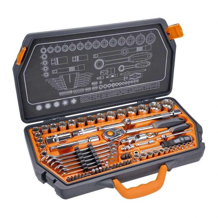 1//2 NEO 08-668 Socket 1//4 150 pcs Set 3//8