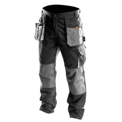 NEO Men's Heavy Duty Cargo Multi Pocket Work Trousers